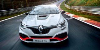 El nuevo Renault Megane R.S. Trophy-R establece un nuevo récord en Nürburgring y desplaza al Honda Civic Type R
