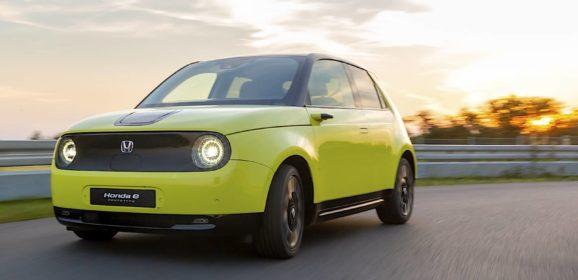 Honda e: 100% Eléctrico, tracción trasera, 150 CV y muy emocional