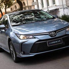 El nuevo Toyota Corolla 2020 se estrena en Brasil: Ahora también híbrido